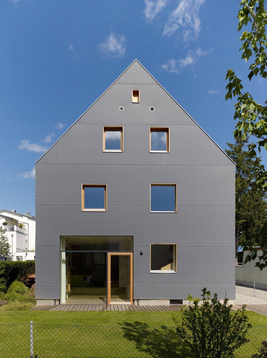 Graue Häuser graues haus in münchen dämmstoffe wohnen baunetz wissen