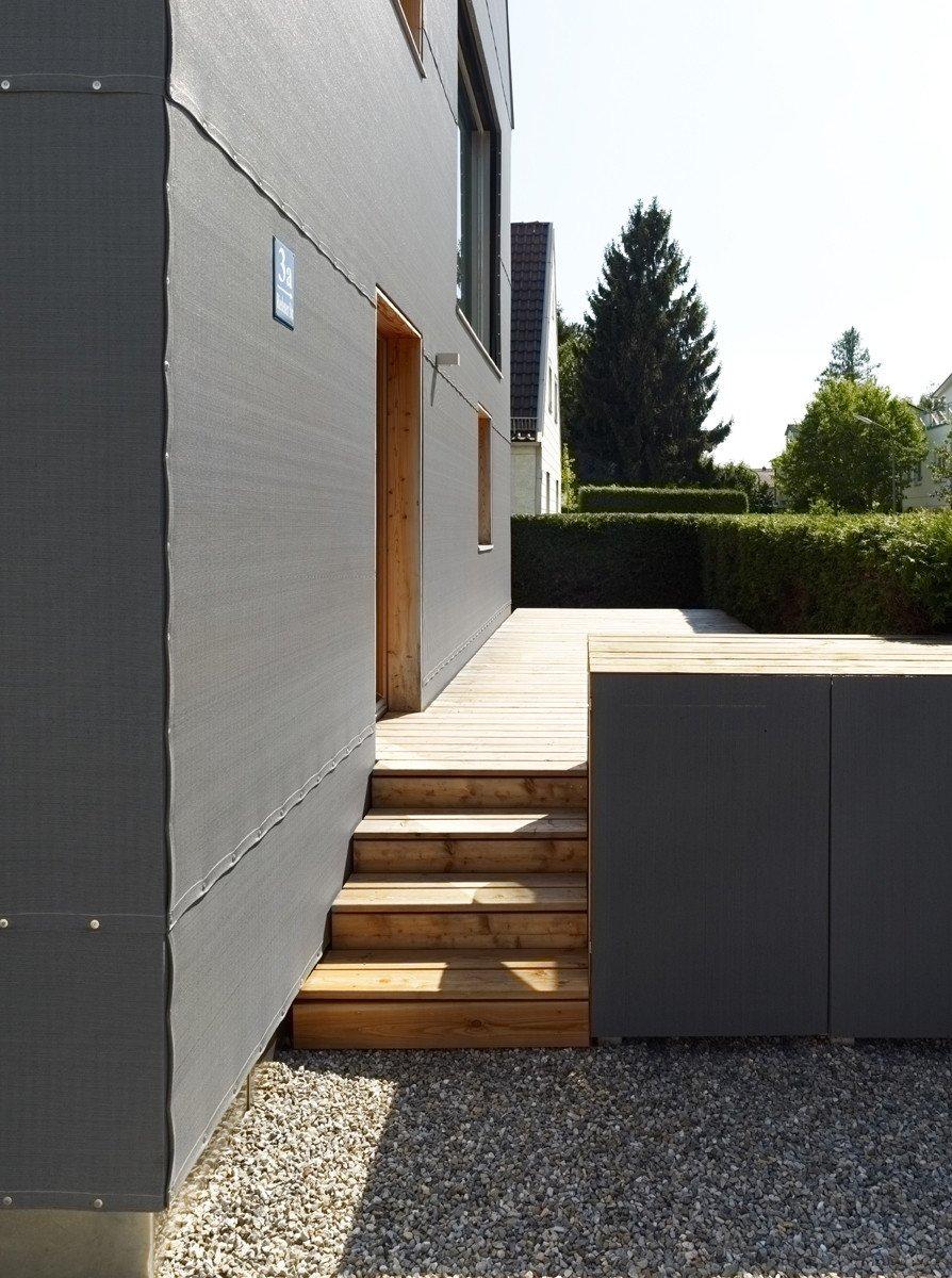 Graues Haus In Munchen Dammstoffe Wohnen Baunetz Wissen