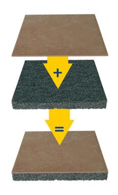 verlegung von fliesen im au enbereich systeme fliesen und platten. Black Bedroom Furniture Sets. Home Design Ideas