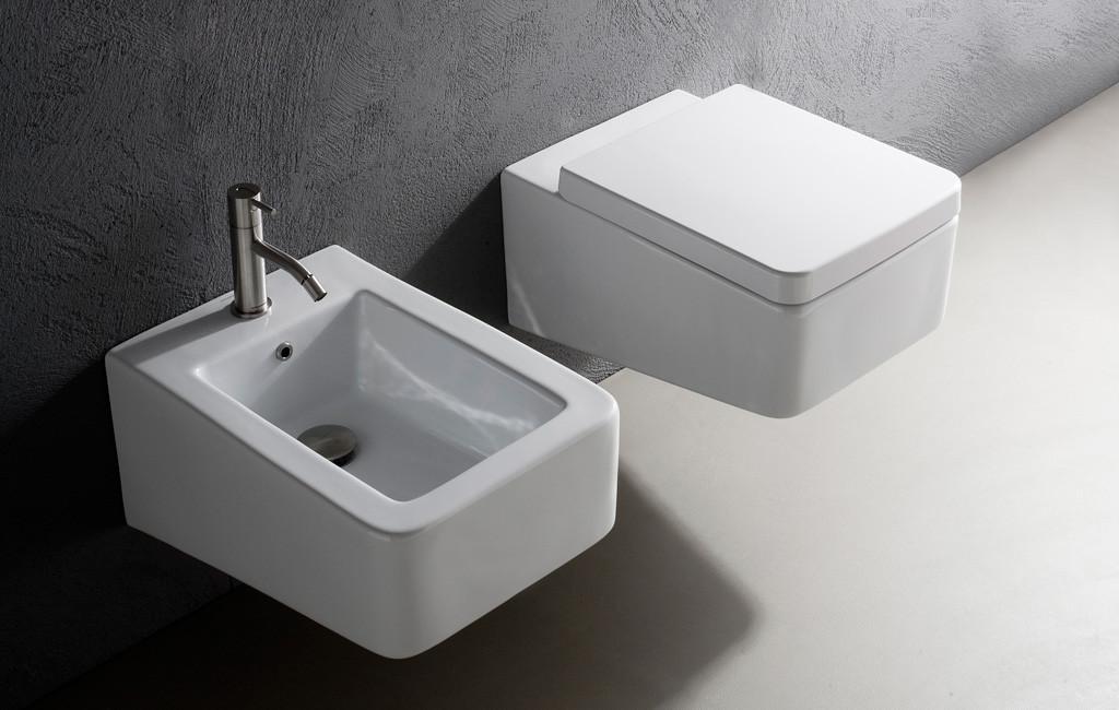 Kompakt An Der Wand: Wc Und Bidet | Bad Und Sanitär | News ... Kompakte Designer Toiletten