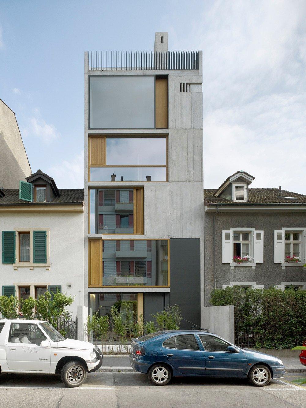 Wohnhaus bl siring in basel beton wohnen mfh baunetz for Architektur basel