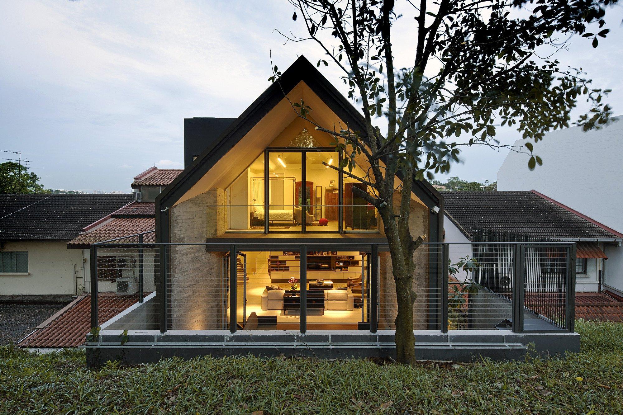 y haus in singapur bad und sanit r wohnen baunetz wissen. Black Bedroom Furniture Sets. Home Design Ideas