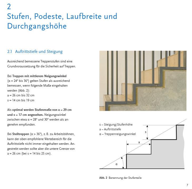 funktionelle sichere und nutzerfreundliche treppen treppen planungshilfen publikationen. Black Bedroom Furniture Sets. Home Design Ideas