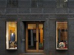 Neue Fassade vor der Paul Smith-Boutique in Mayfair