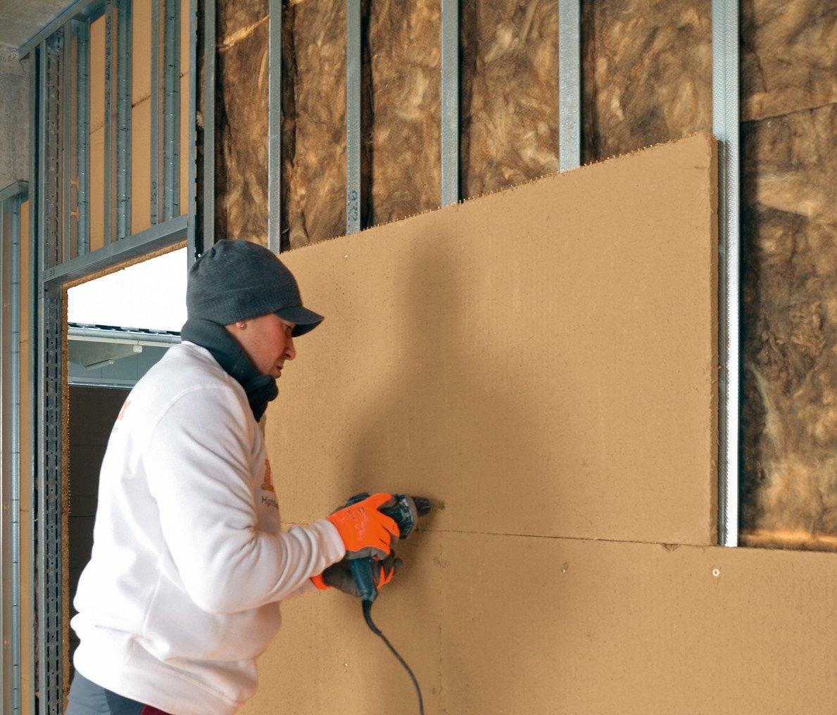 lehmbauplatte f r den innenausbau nachhaltig bauen news archiv baunetz wissen. Black Bedroom Furniture Sets. Home Design Ideas