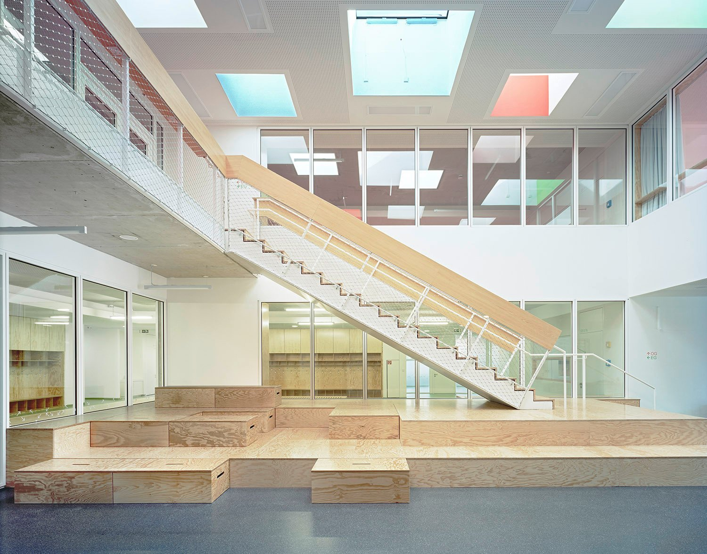Evangelische Grundschule Mit Sporthalle In Karlsruhe