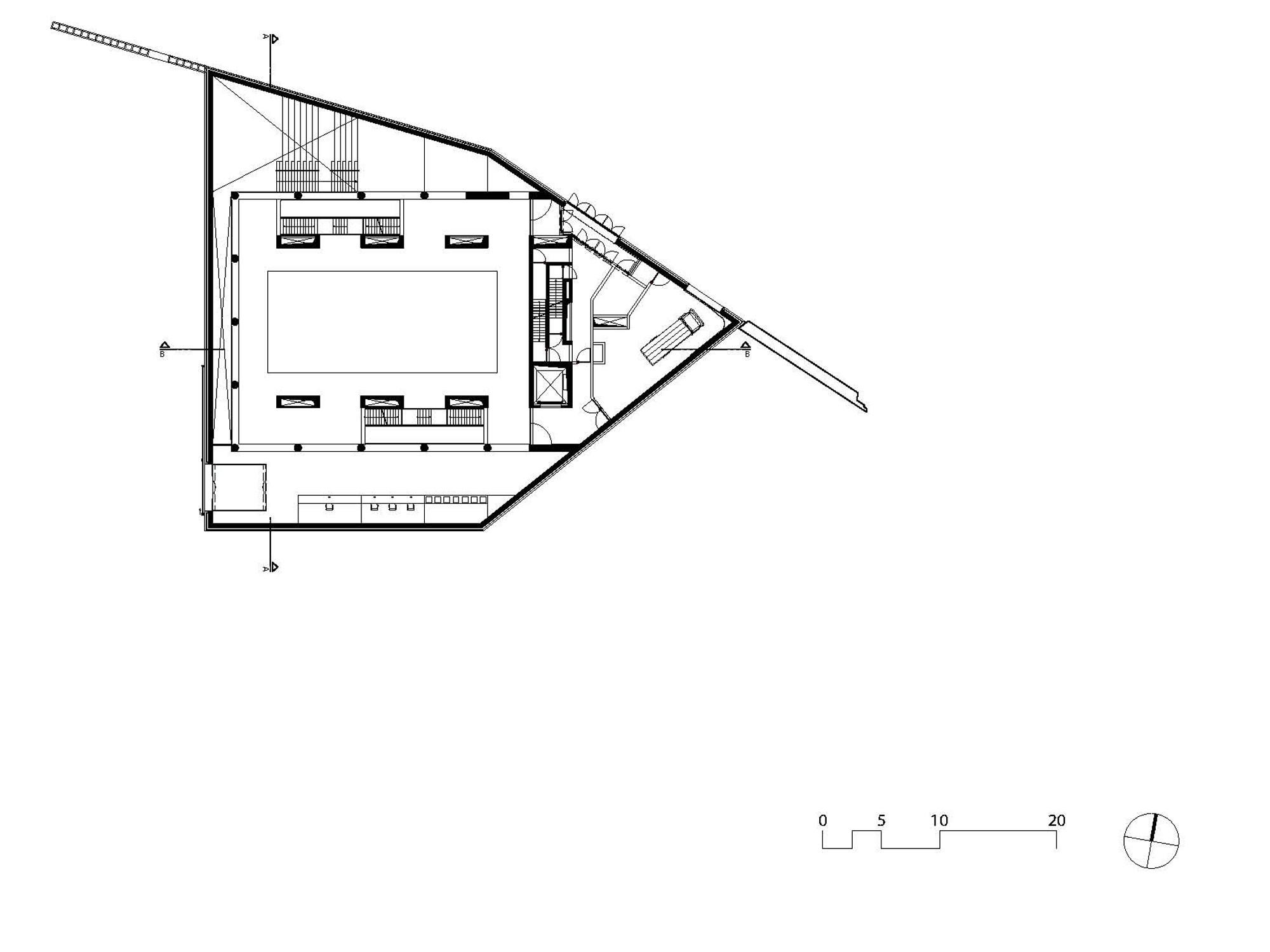 Foyer Museum Grundriss : Museum kazerne dossin in mechelen mauerwerk kultur