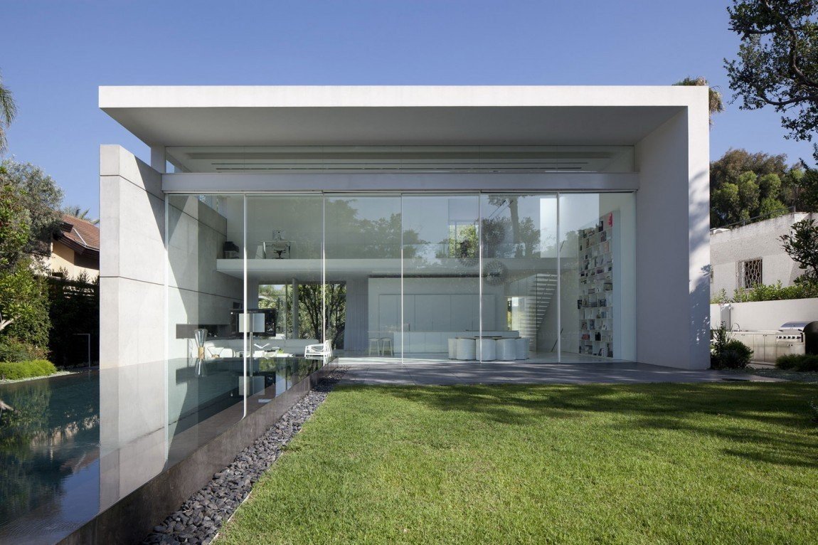 Wohnhaus in Ramat Hascharon | Beton | Wohnen/EFH | Baunetz_Wissen