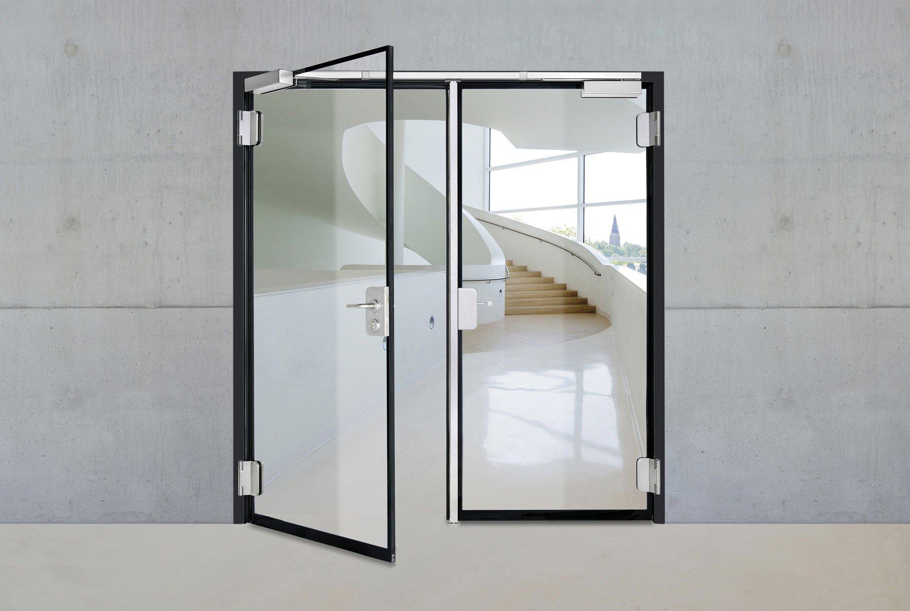 brandschutzt ren und verglasungen brandschutz news produkte baunetz wissen. Black Bedroom Furniture Sets. Home Design Ideas