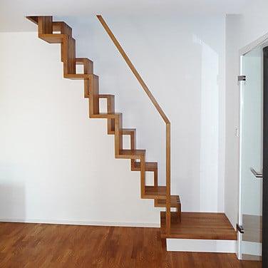 raumspartreppe treppen glossar baunetz wissen. Black Bedroom Furniture Sets. Home Design Ideas