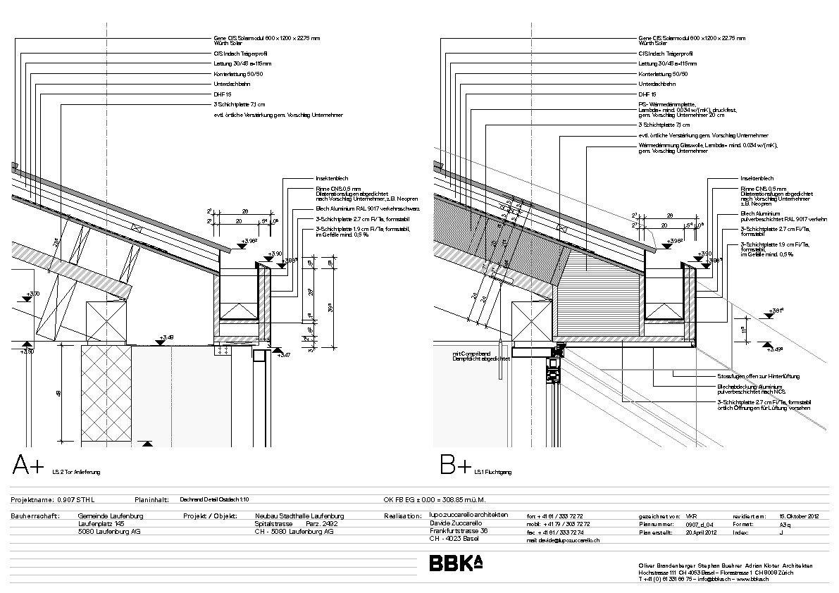 Ungewöhnlich Dachstuhl Details Galerie - Rahmen Ideen ...