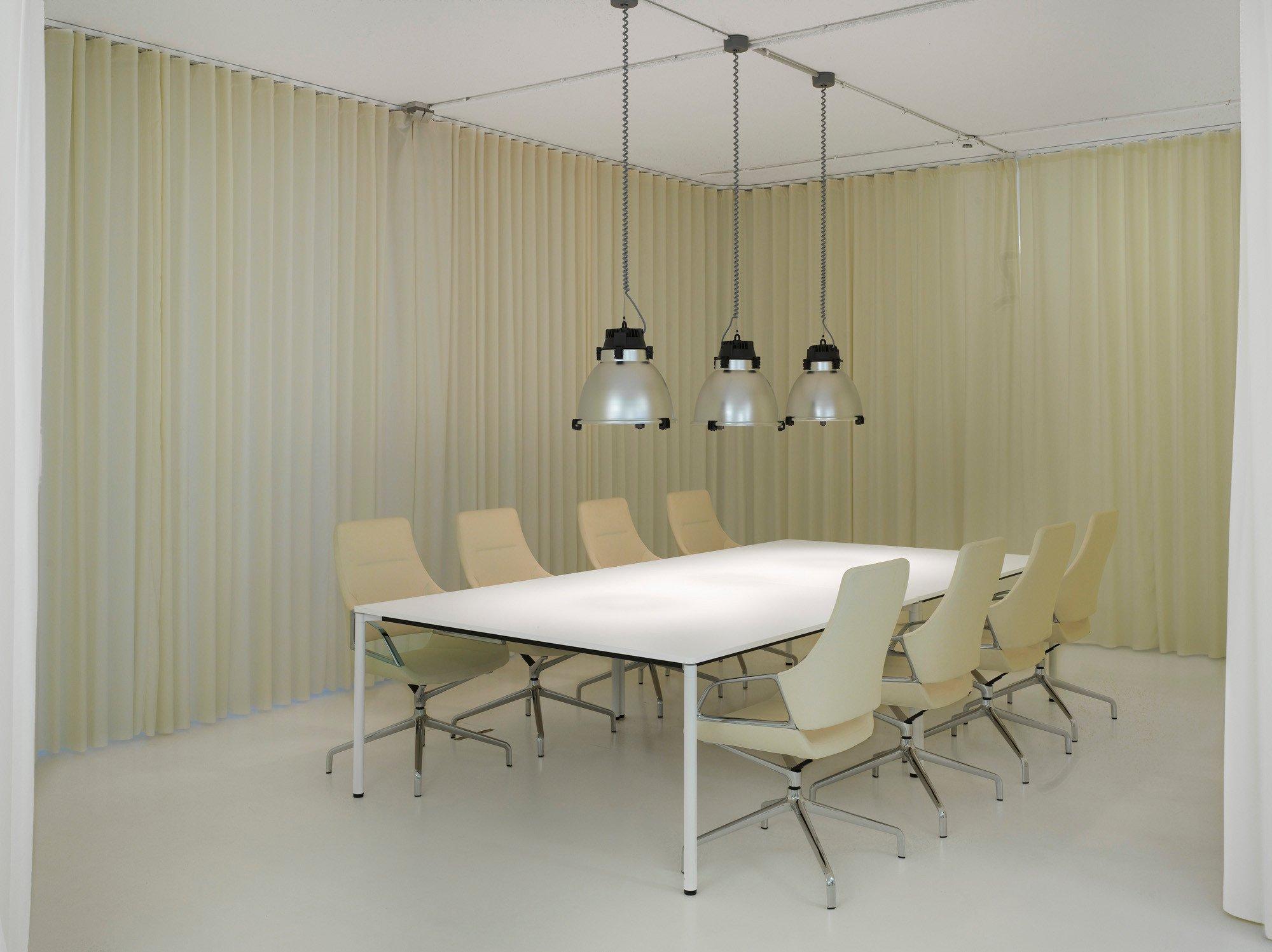 vorh nge f r b ro zuhause image idee. Black Bedroom Furniture Sets. Home Design Ideas