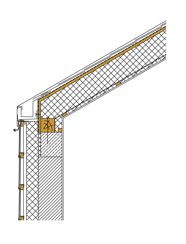 Traufdetail kein dachüberstand  Einfamilienhaus in Marsberg | Schiefer | Wohnen/EFH | Baunetz_Wissen
