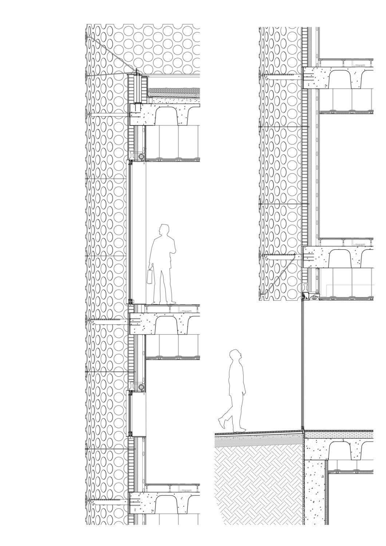 feda hauptverwaltung in albacete fassade b ro verwaltung baunetz wissen. Black Bedroom Furniture Sets. Home Design Ideas