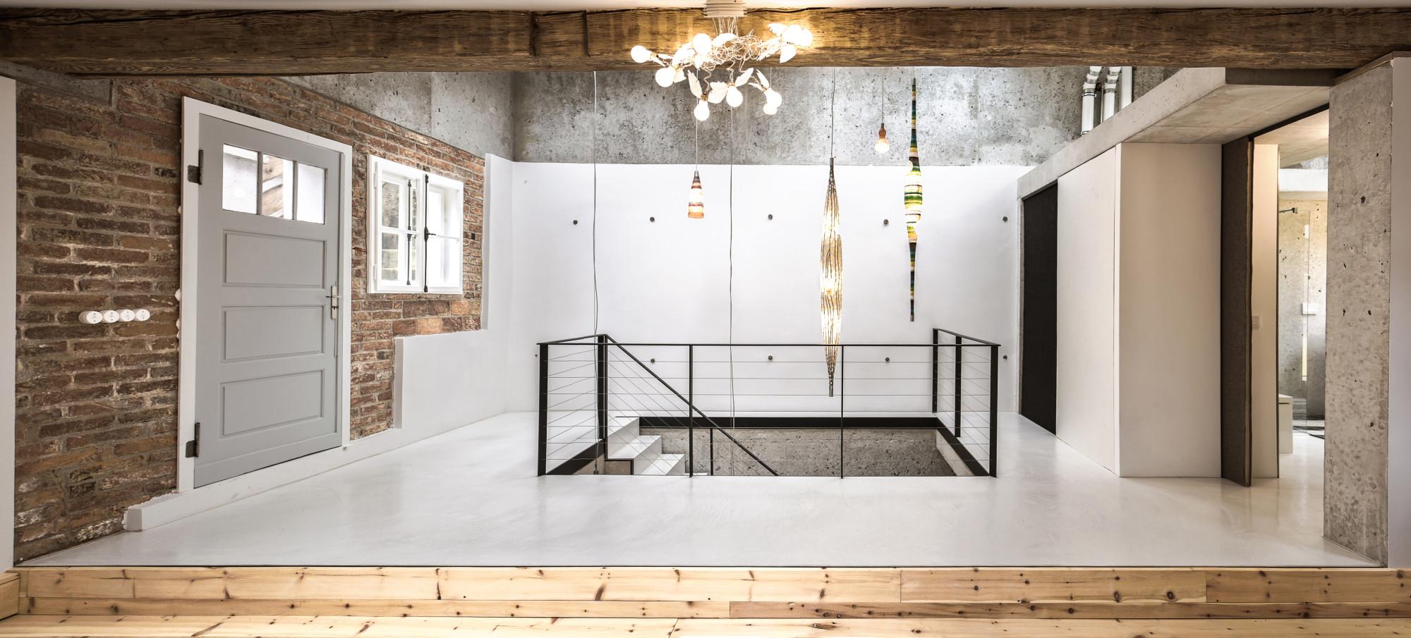 wohnhaus nocki in der m nchner au boden wohnen baunetz wissen. Black Bedroom Furniture Sets. Home Design Ideas