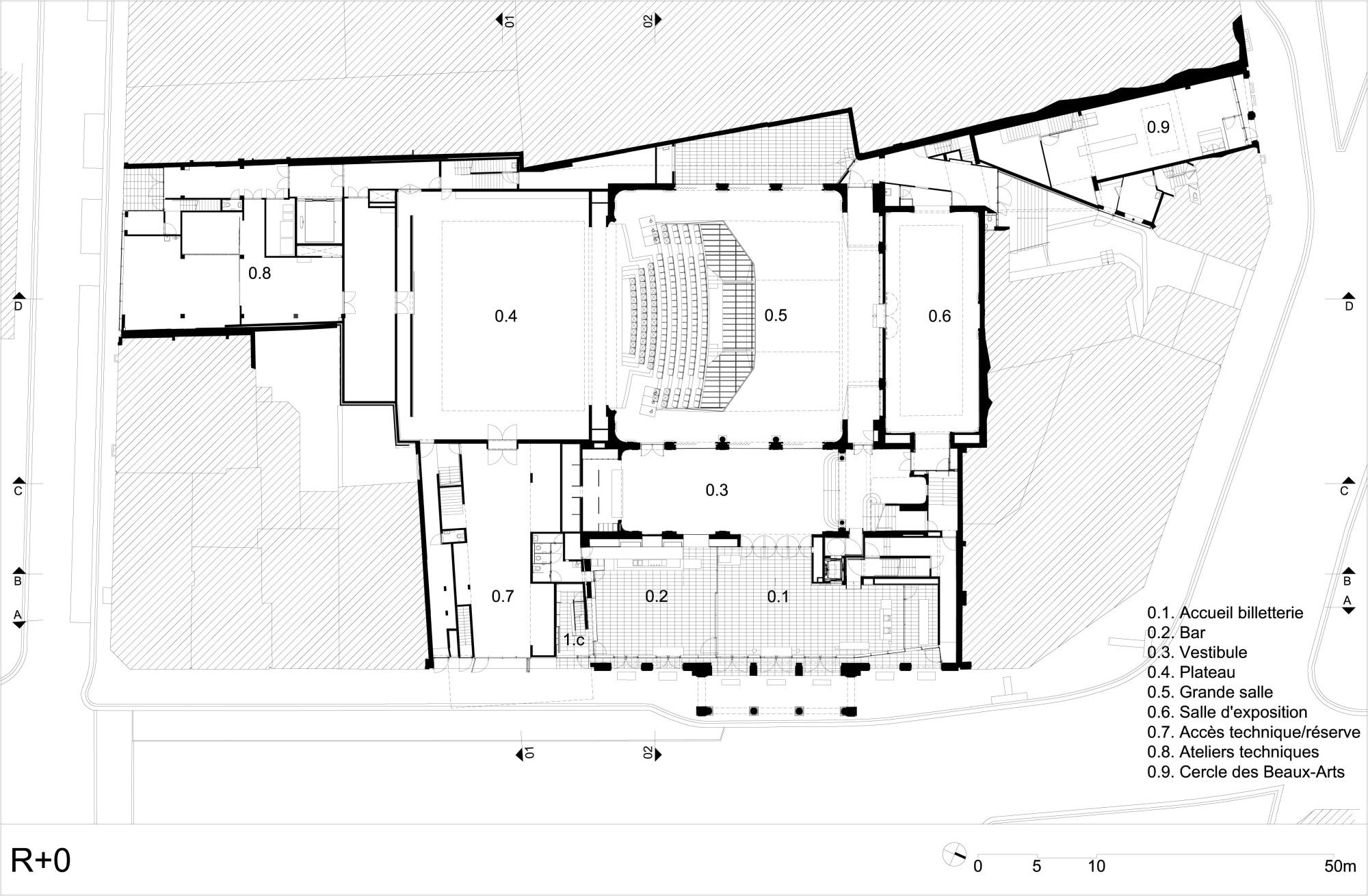 Théâtre de Liège in Lüttich | Glas | Kultur | Baunetz_Wissen
