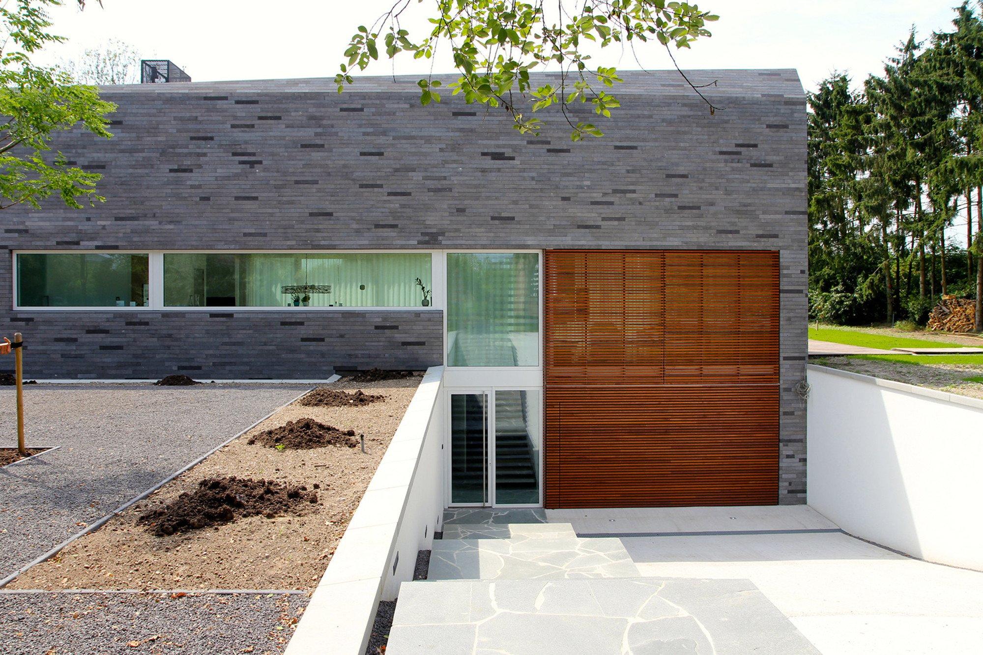 Was Bedeutet Souterrain einfamilienhaus shi bui in venlo mauerwerk wohnen efh