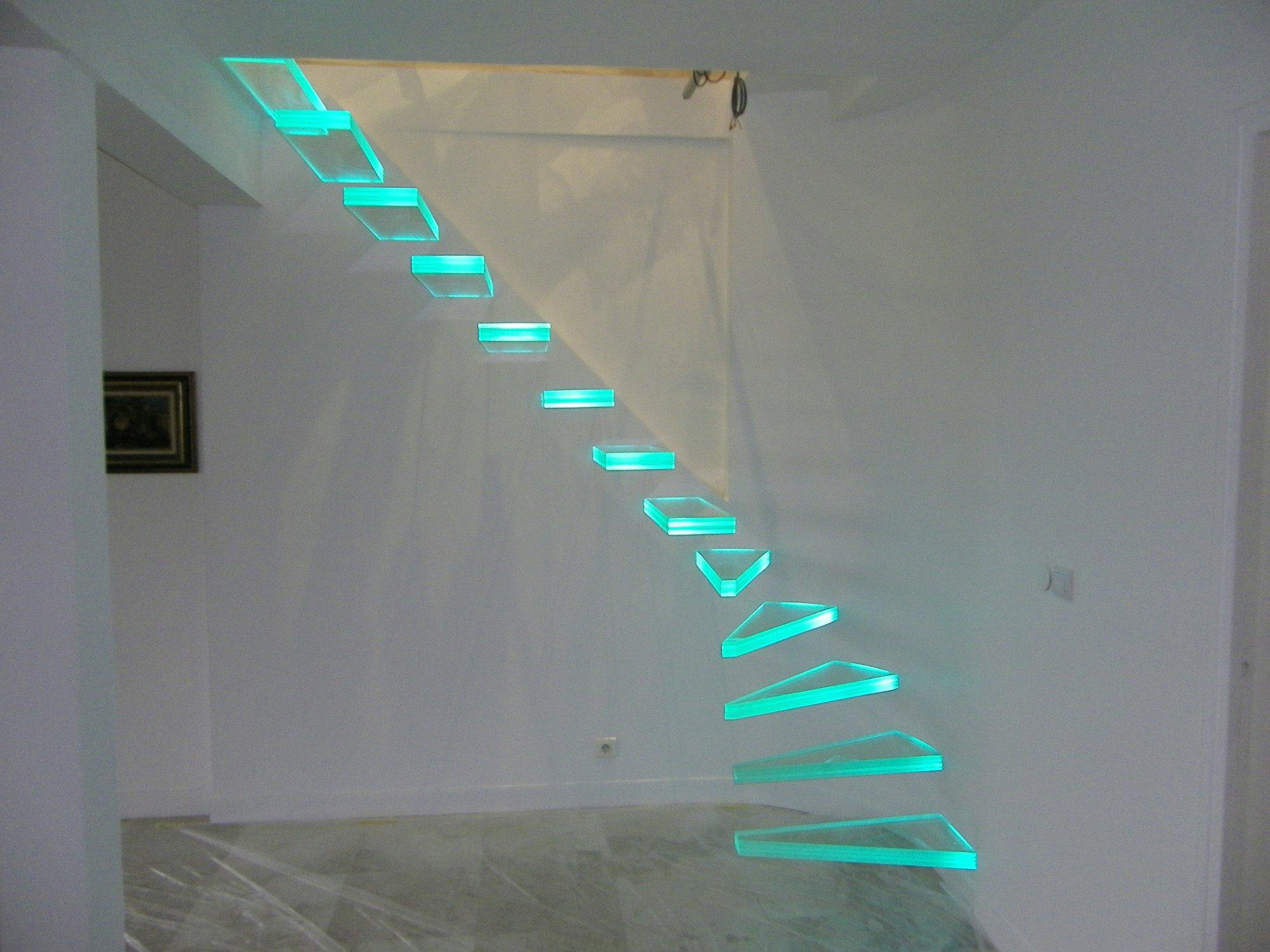 Frei Kragende Glasstufen Treppen News Produkte