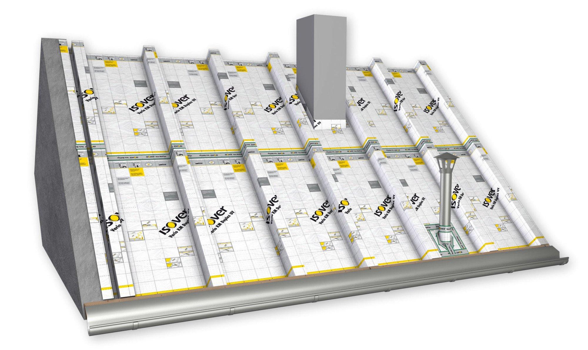 Funktion Und Eigenschaften Der Dampfbremse Geneigtes Dach