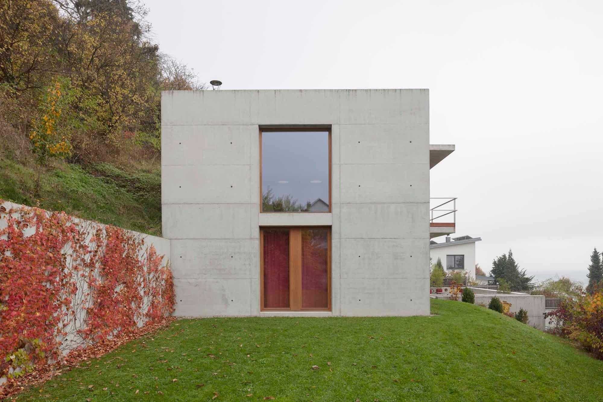 Wohnhaus In Oberelchingen Beton Wohnenefh Baunetzwissen