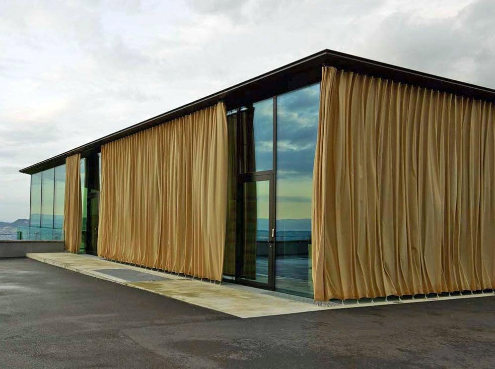 pavillon auf dem gurten bei bern sonnenschutz sonderbauten baunetz wissen. Black Bedroom Furniture Sets. Home Design Ideas