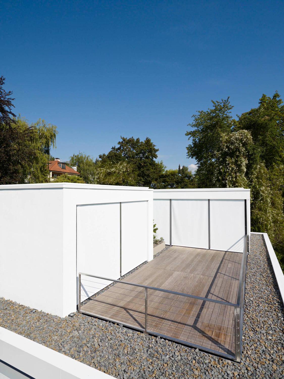 Aufstockung Haus S in Wiesbaden | Flachdach | Wohnen | Baunetz_Wissen