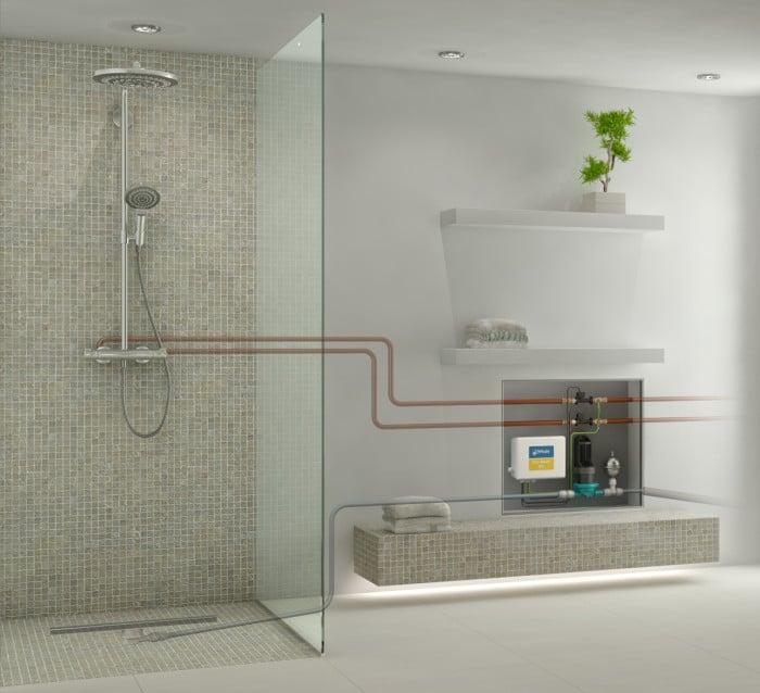 flache dusche nachtraglich einbauen die neueste. Black Bedroom Furniture Sets. Home Design Ideas