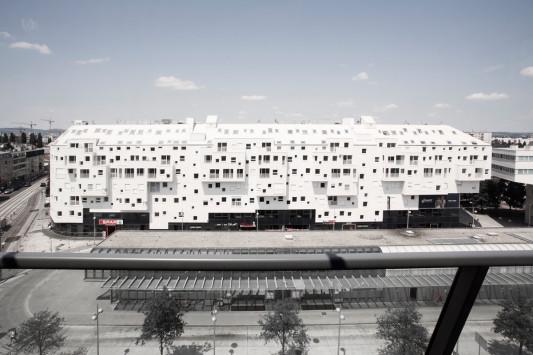 Wohn-, Büro- und Geschäftshaus Doninpark in Wien