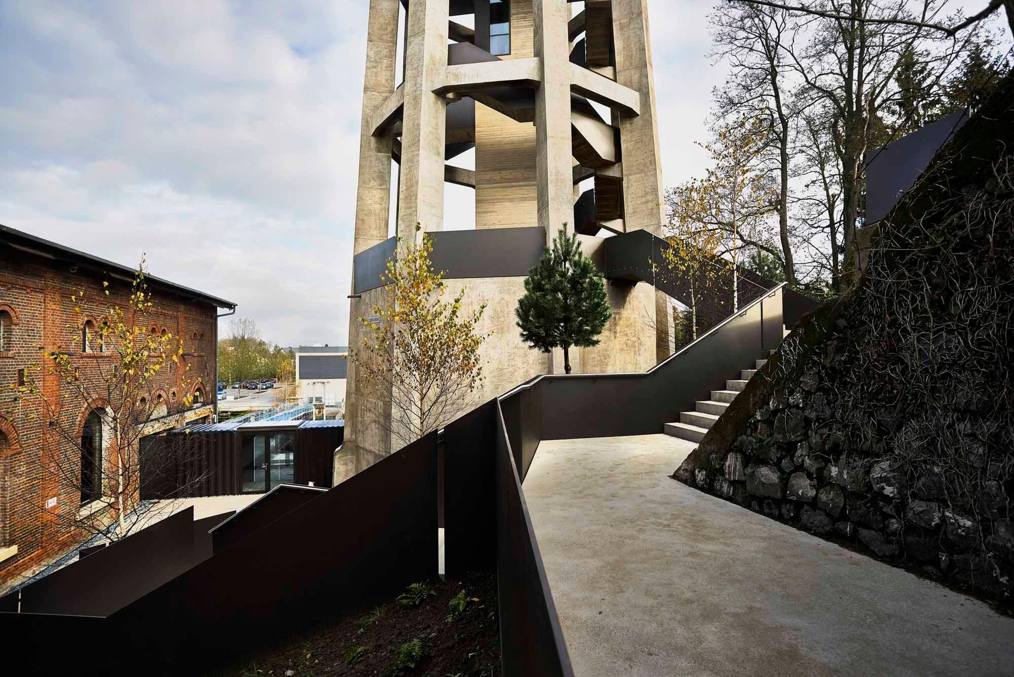 Wasserturm In Dudelange Beton Sonderbauten Baunetz Wissen
