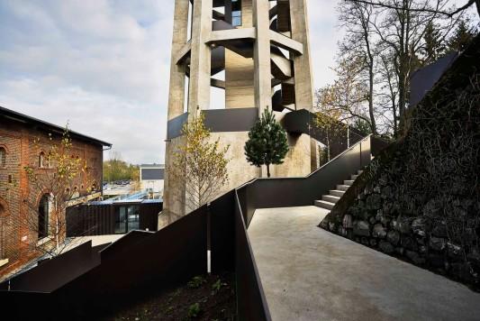 Wasserturm in Dudelange