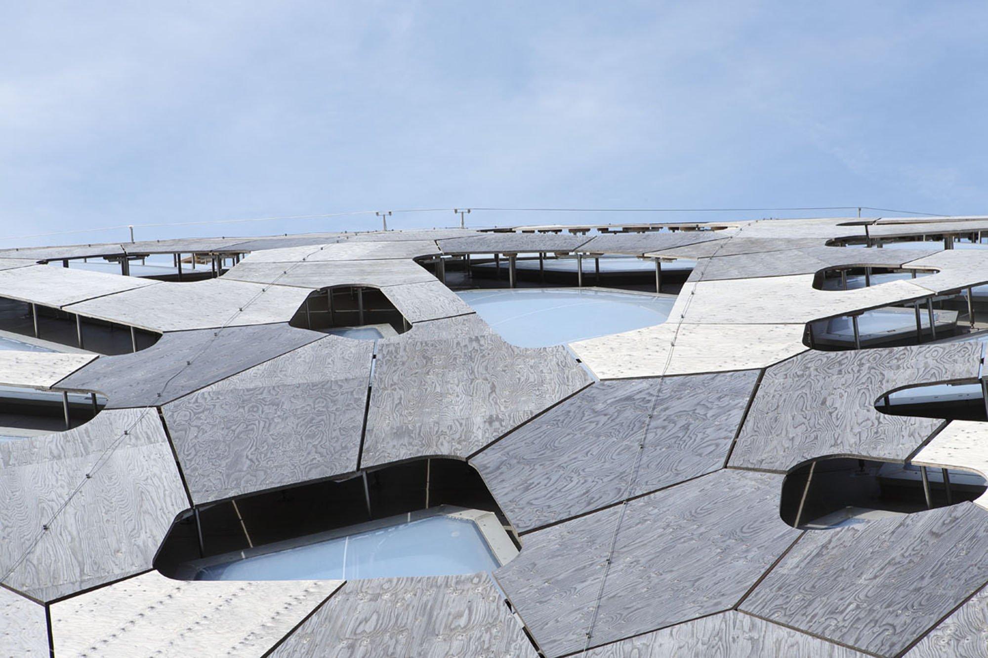 Kaeng krachan elefantenpark im zoo z rich geneigtes dach sport freizeit baunetz wissen - Dachformen architektur ...
