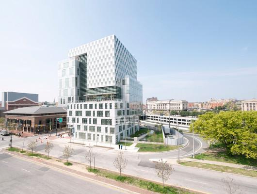 Universitätsgebäude John and Frances Angelos Law Center in Baltimore