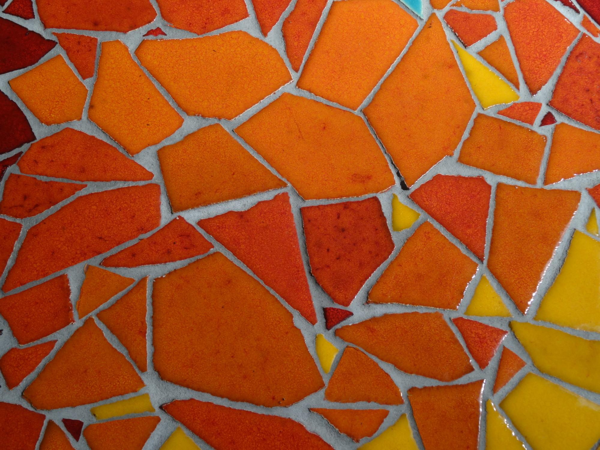 mosaik kunst bisazza verkleidung, trencadís | fliesen und platten | glossar a-z | baunetz_wissen, Design ideen