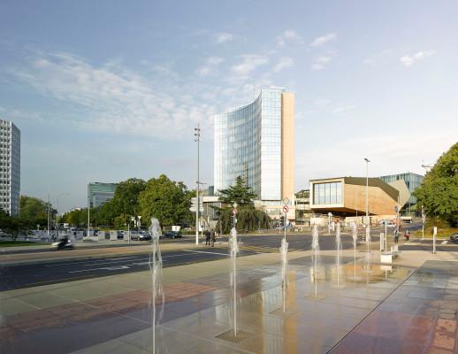 WIPO-Konferenzsaal in Genf