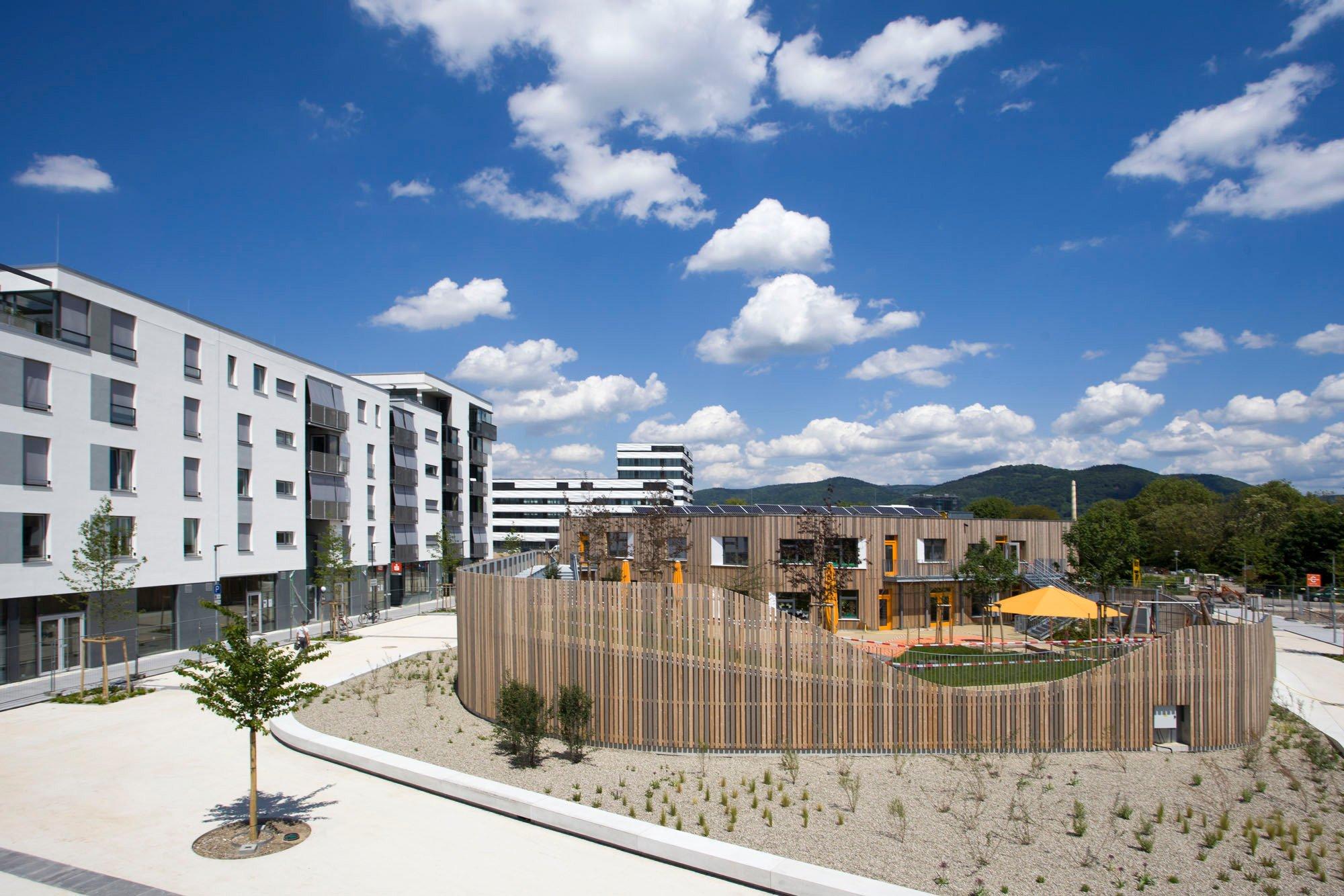 Architekten Heidelberg wohnbebauung schwetzinger terrassen in heidelberg flachdach