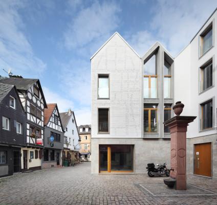 Wohn- und Atelierhaus Kleiner Ritter in Frankfurt a.M.