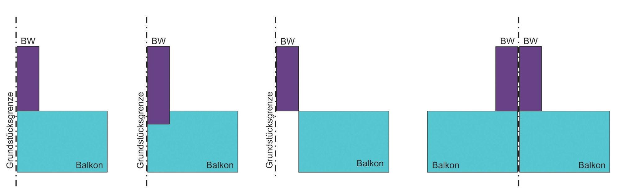balkone und geb udeabschlussw nde brandschutz baustoffe bauteile baunetz wissen. Black Bedroom Furniture Sets. Home Design Ideas