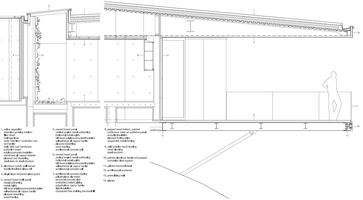 Tula House auf Quadra Island   Flachdach   Wohnen   Baunetz_Wissen