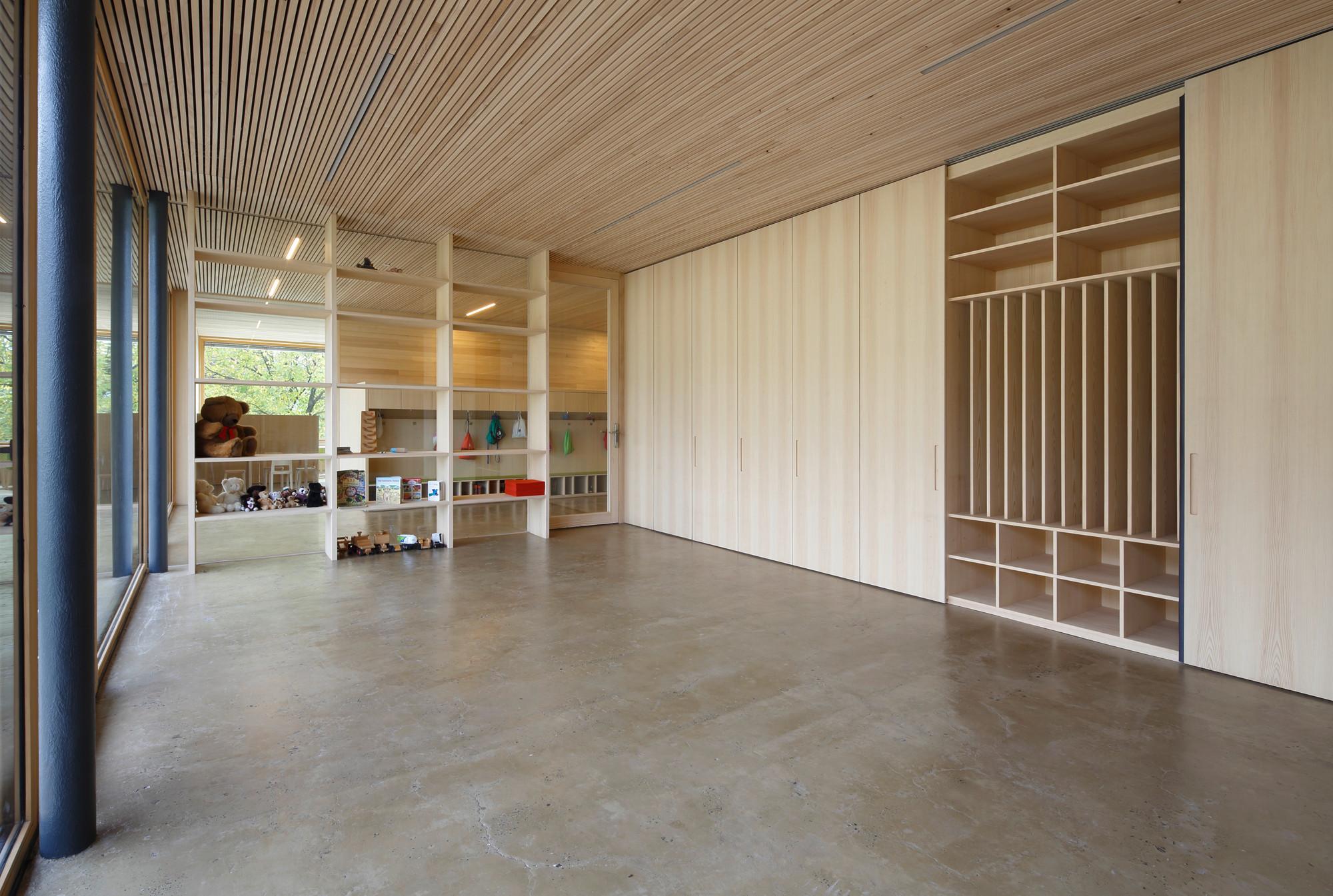 kindergarten muntlix in zwischenwasser heizung kultur bildung baunetz wissen. Black Bedroom Furniture Sets. Home Design Ideas
