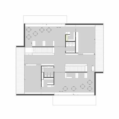Hier sehen Sie den Grundriss vom Erdgeschoss und Obergeschoss. - Bild ...