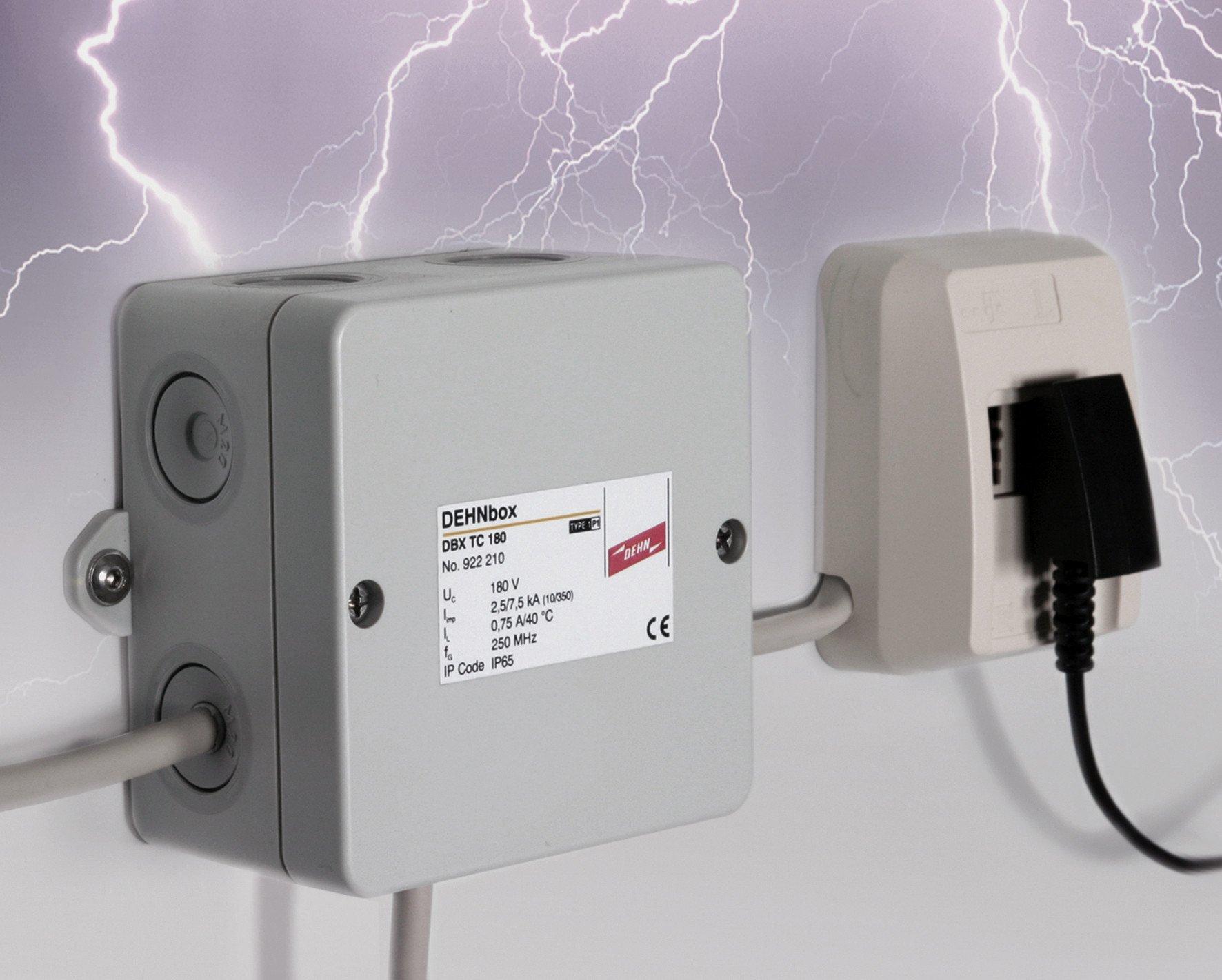Blitz- und Überspannungsschutz für Telekommunikationsgeräte ...