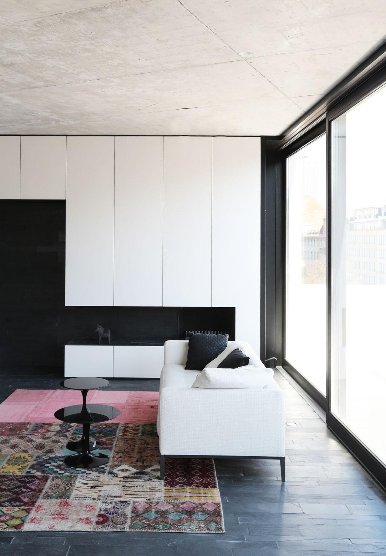 maisonettewohnung in berlin mitte schiefer wohnen mfh baunetz wissen. Black Bedroom Furniture Sets. Home Design Ideas