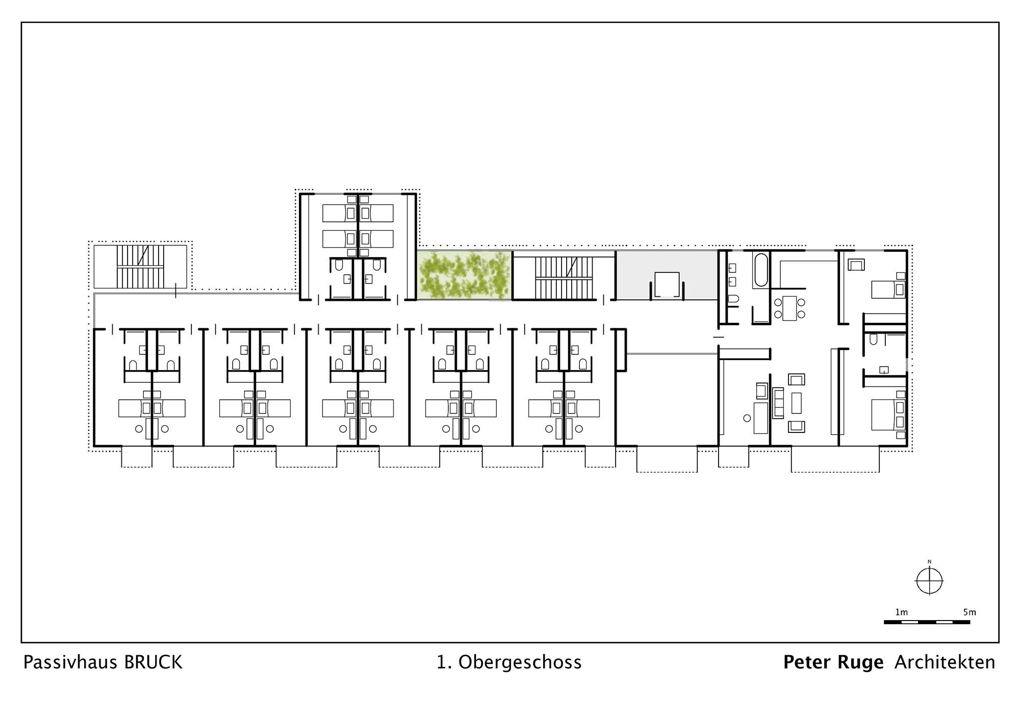 passivhaus bruck in changxing geb udetechnik wohnen baunetz wissen. Black Bedroom Furniture Sets. Home Design Ideas