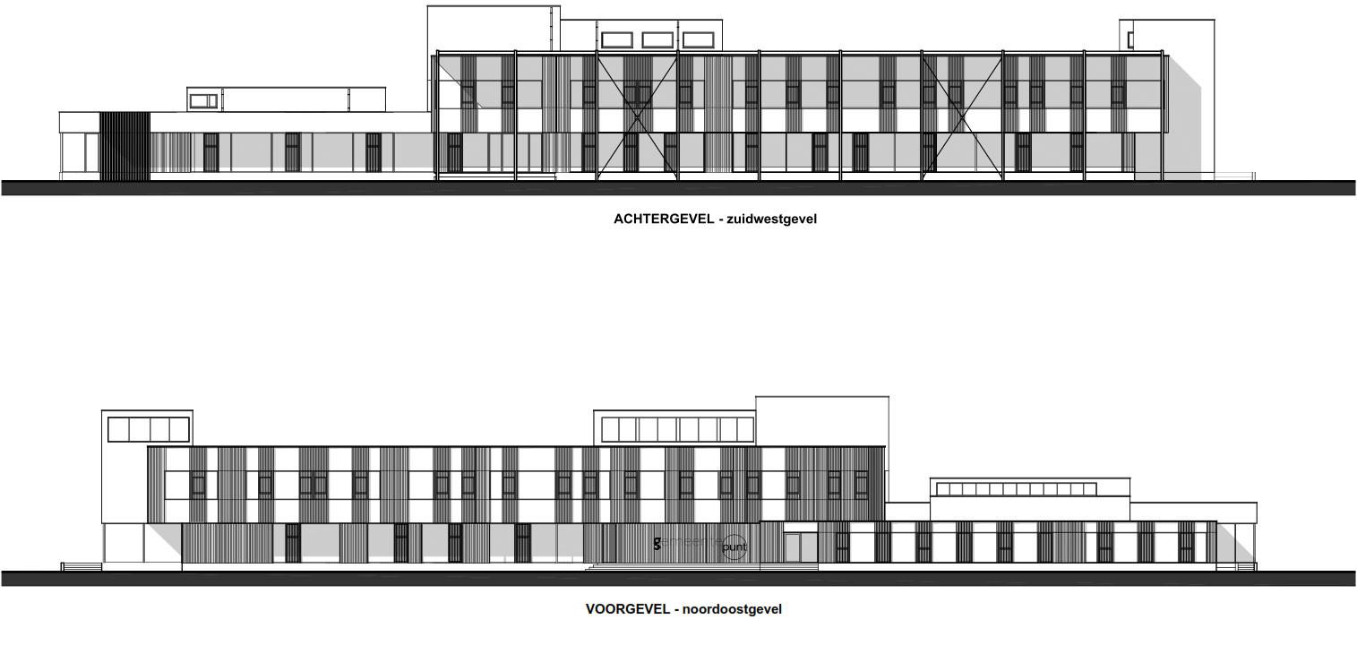 Gemeindezentrum in zwevegem nachhaltig bauen b ro baunetz wissen - Buro 13 architekten ...