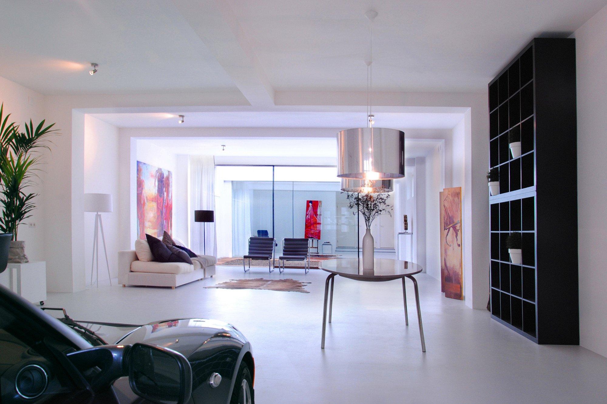 Charmant Hi Tech Loft Wohnung Loft Dethier Architecture ...
