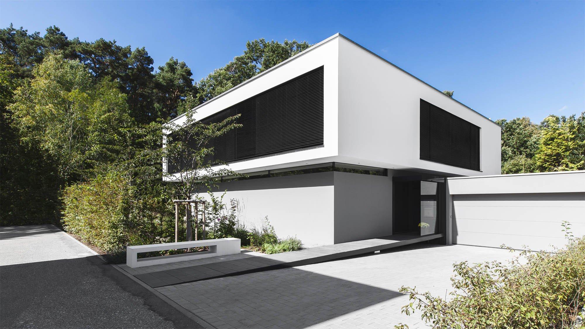 haus g bei erlangen flachdach wohnen baunetz wissen. Black Bedroom Furniture Sets. Home Design Ideas