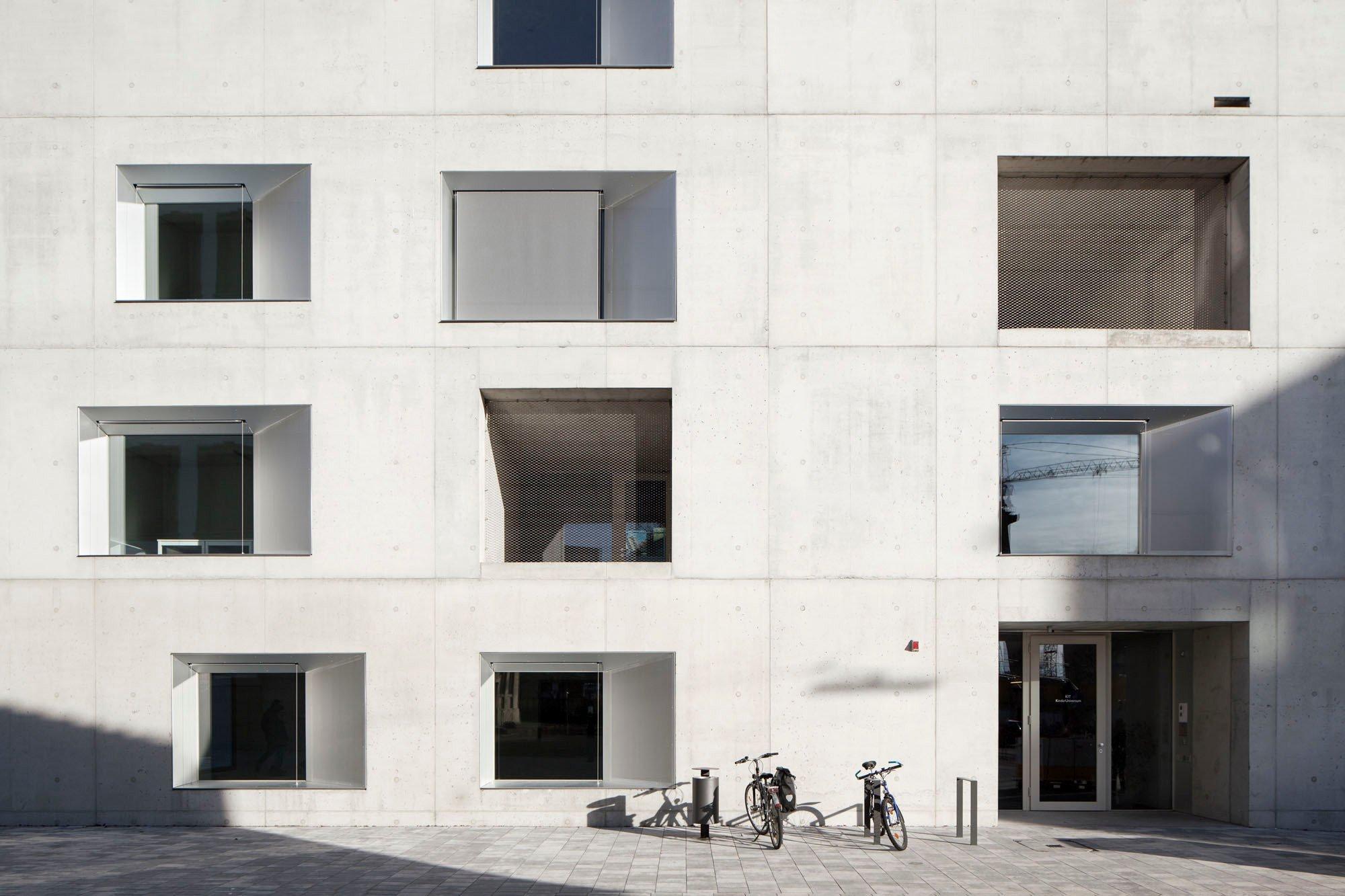 Kita Kinderuniversum des KIT in Karlsruhe | Bauphysik | Kultur ...