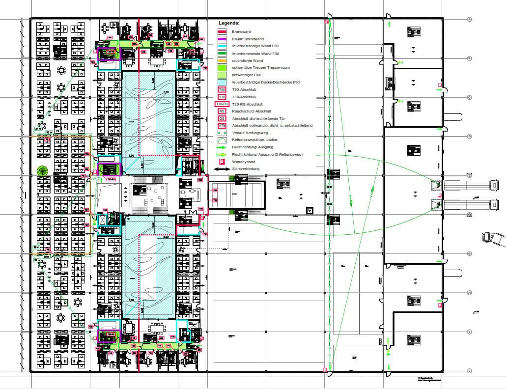 wittenstein innovationsfabrik in igersheim brandschutz b ro gewerbe baunetz wissen. Black Bedroom Furniture Sets. Home Design Ideas