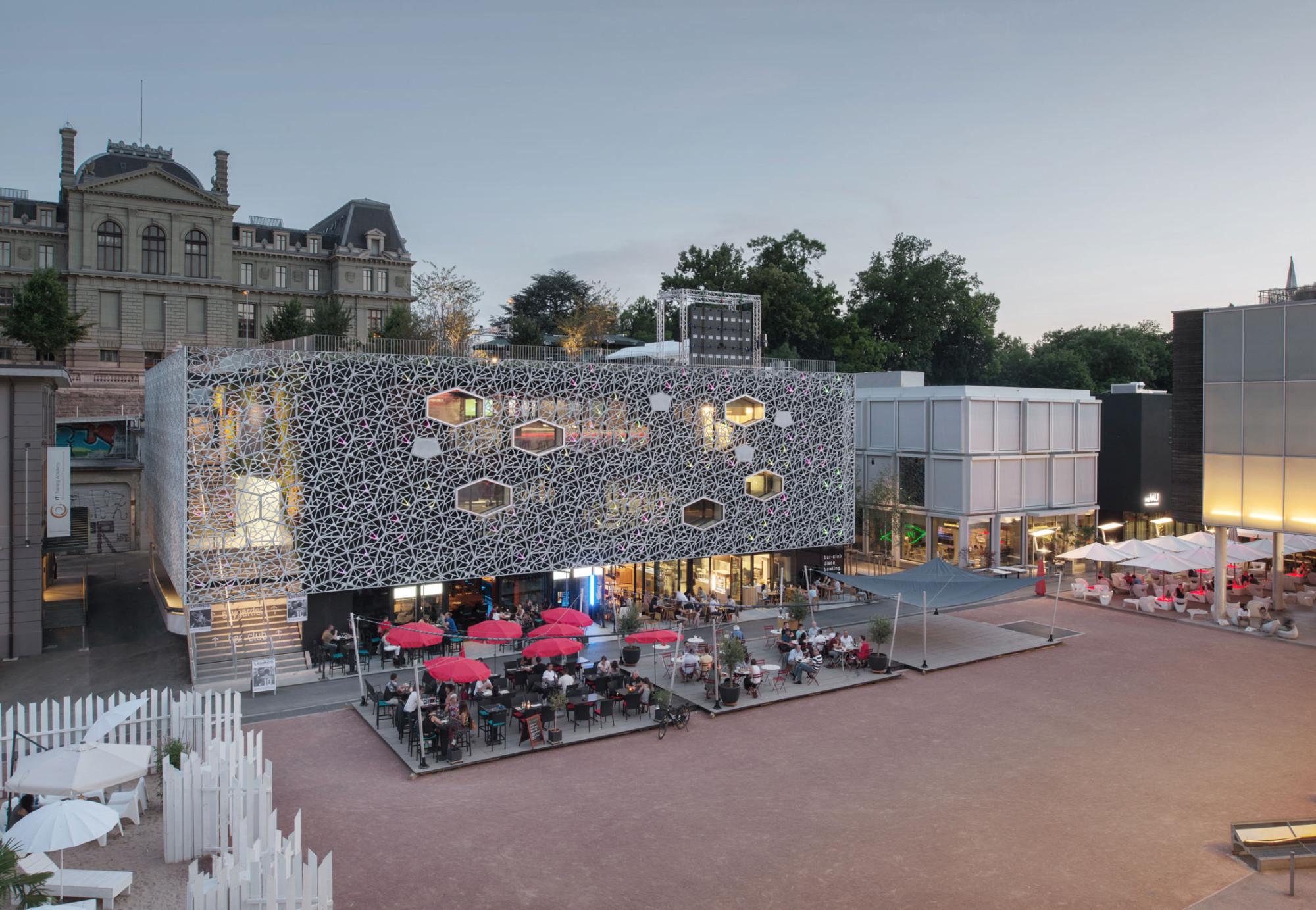 Les Pépinières in Lausanne | Beton | Kultur | Baunetz_Wissen