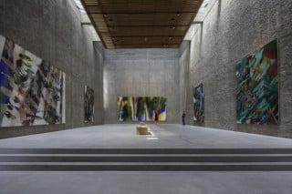 Der obere Ausstellungsraum